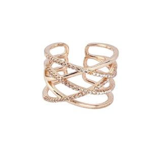 ANILLO LINEAS MULTIPLES AJUSTABLE